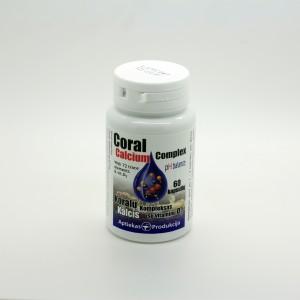 Koralų kalcis su vitaminu D3